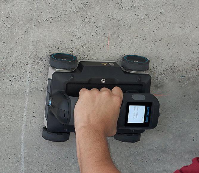 Concrete Radar Scanning